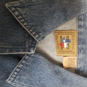 Don't Mess With Texas Jackets & Coats - Don't Mess With Texas Blue Denim Boot Jacket - Lrg